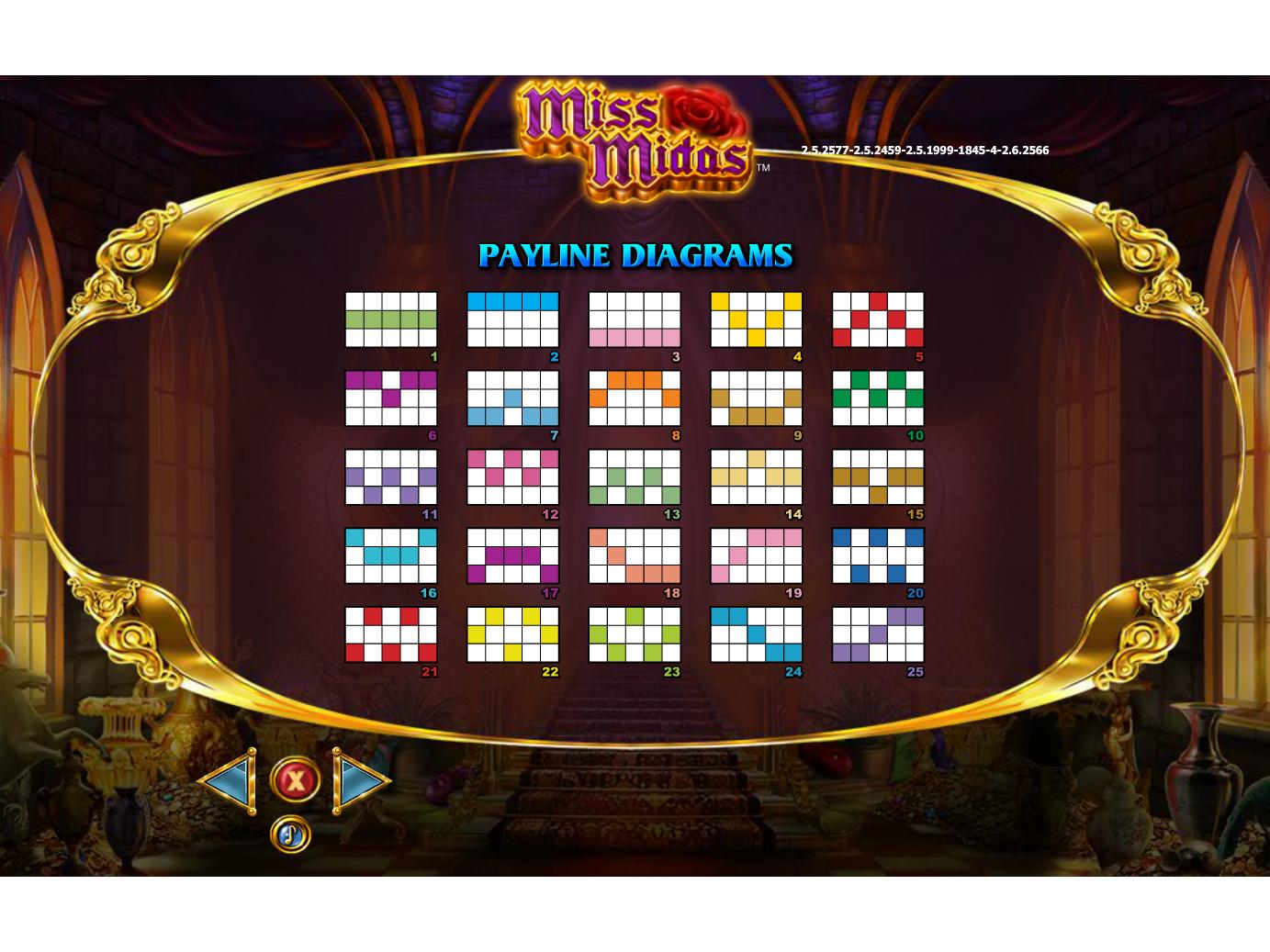 Jetzt Miss Midas online spielen