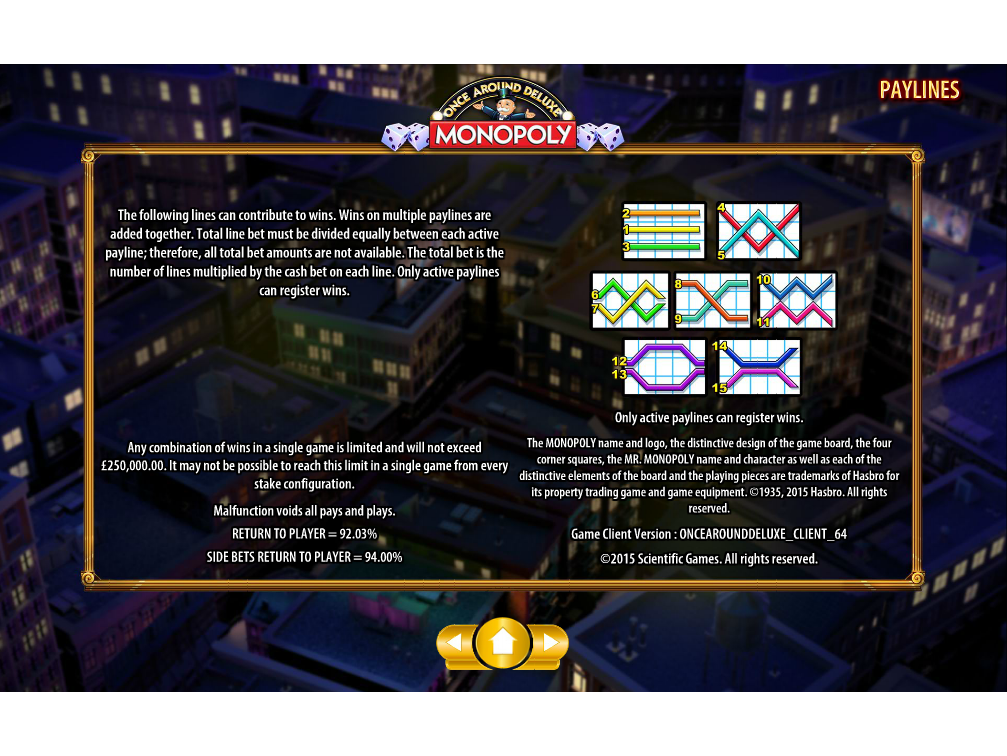 Jetzt Monopoly Once Around Deluxe online spielen