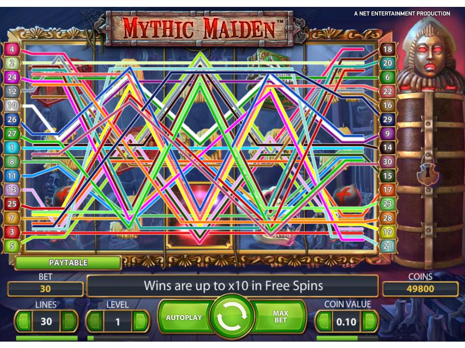 Jetzt Mythic Maiden online spielen