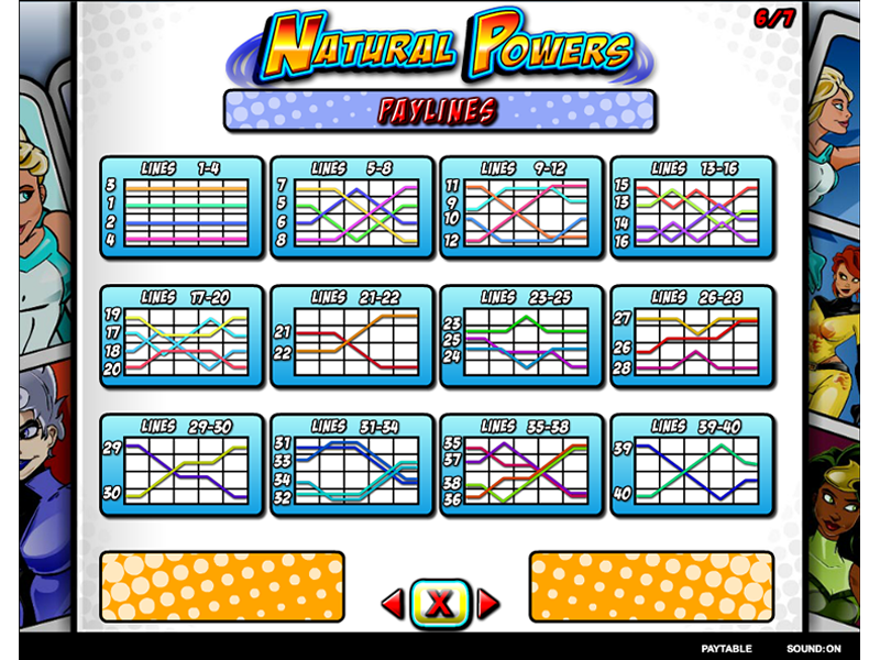 play Natural Powers online