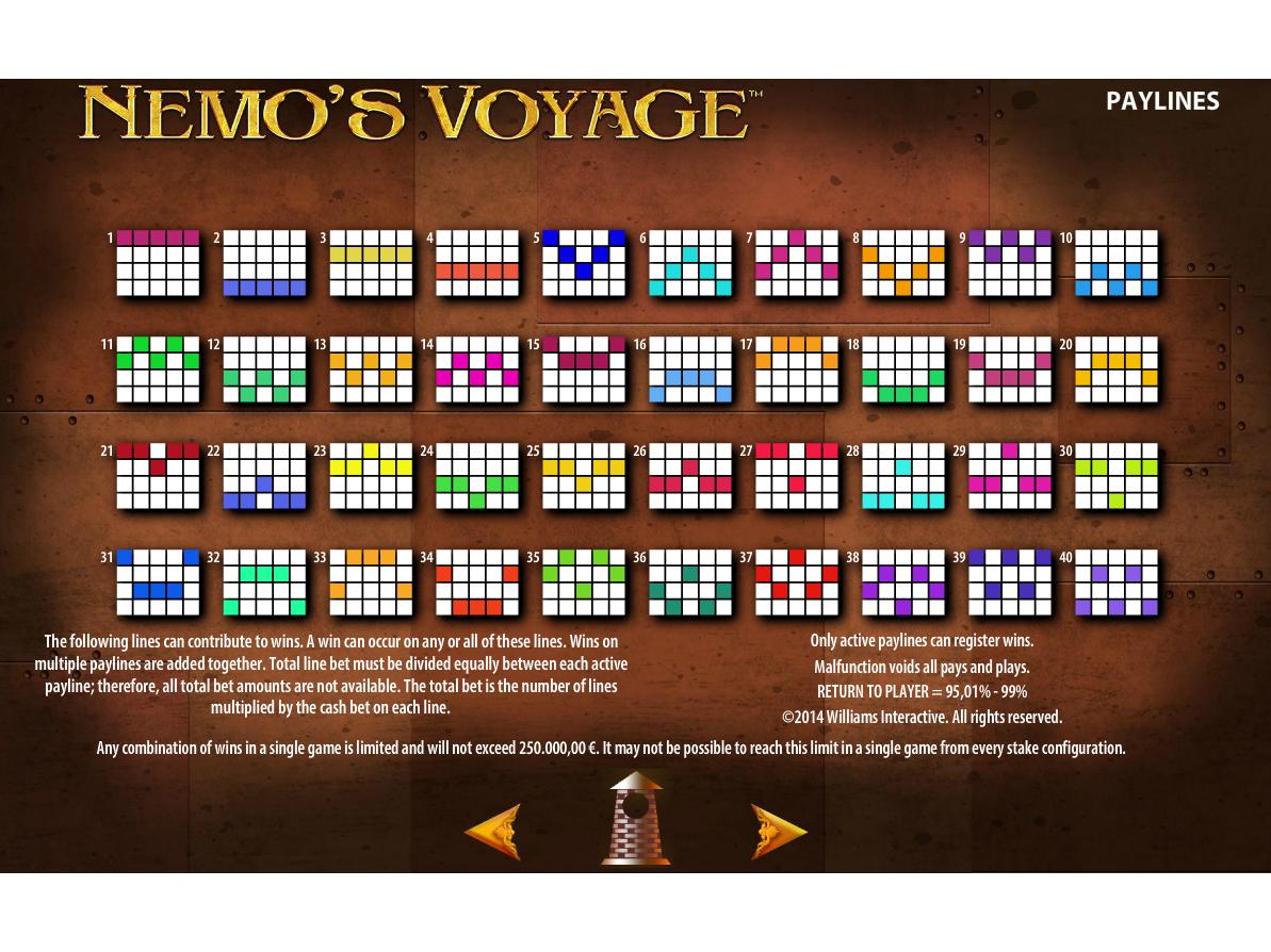 Jetzt Nemo's Voyage online spielen