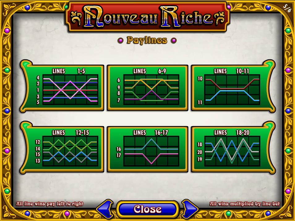 play Nouveau Riche online