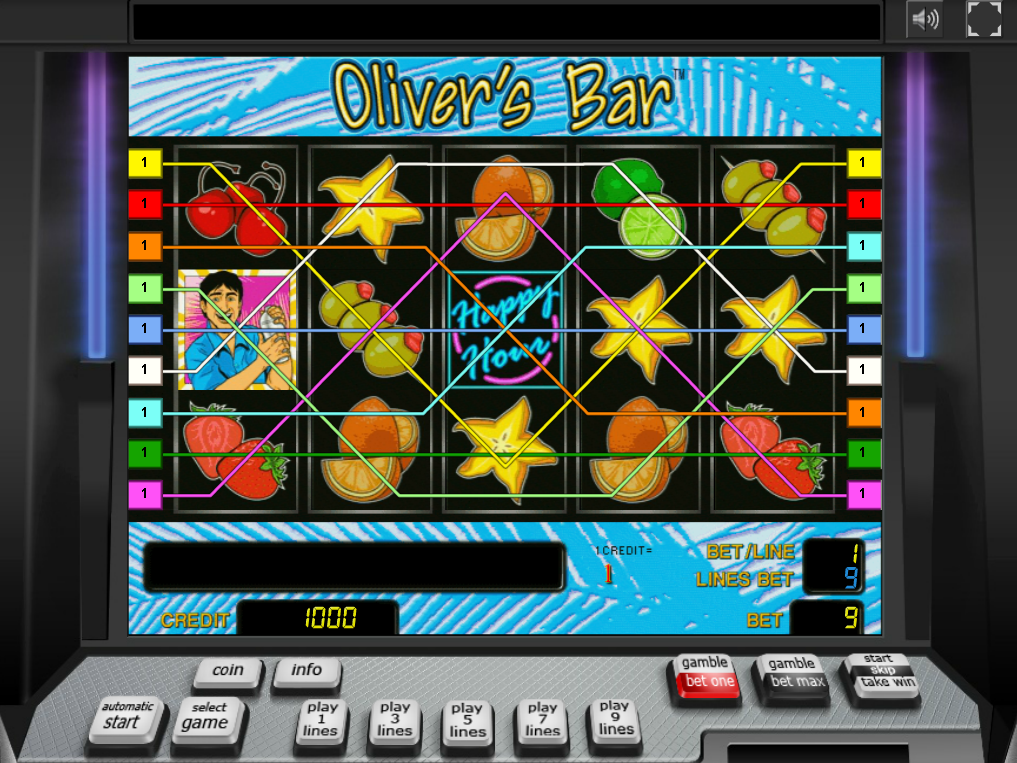 play Oliver's Bar online