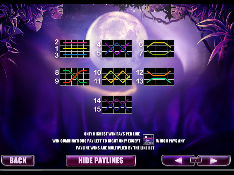 play Panther Moon online