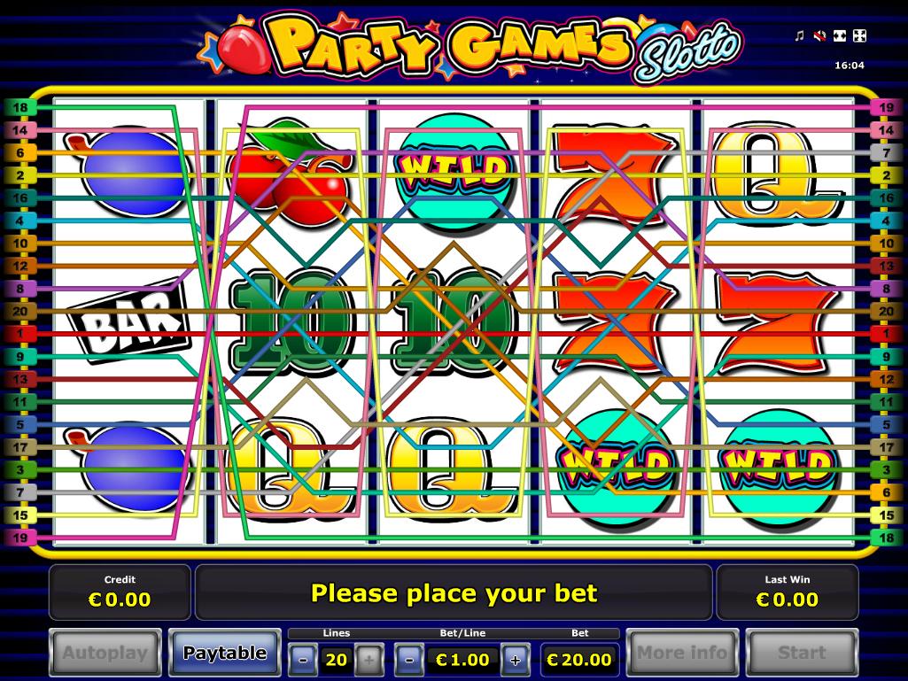 Jetzt Party Games Slotto online spielen