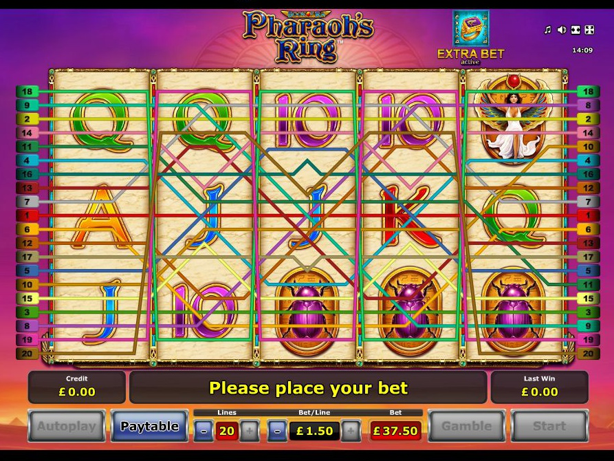 play Pharaoh's Ring online
