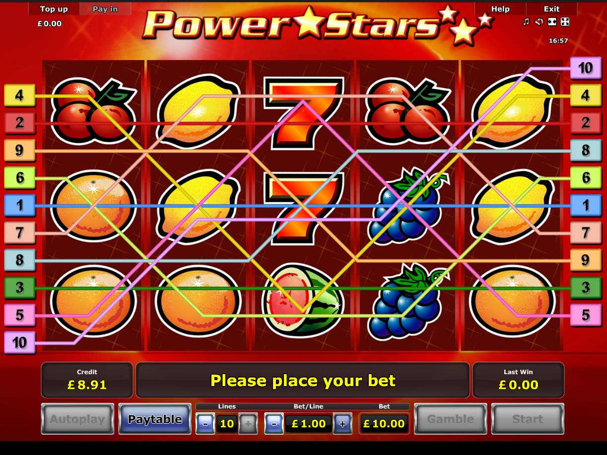 play Power Stars online