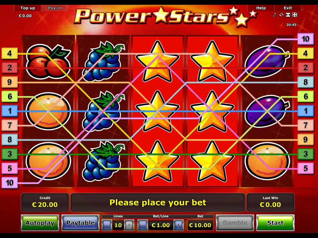 Jetzt Power Stars online spielen