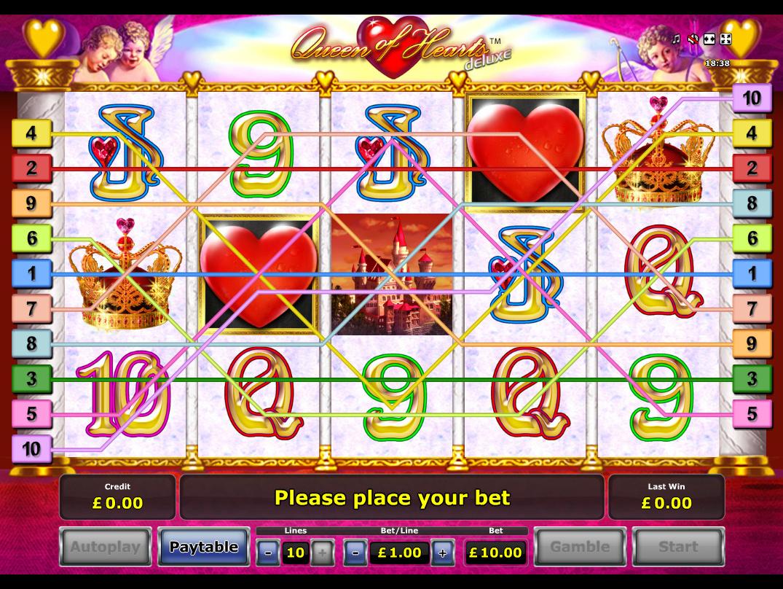 play Queen of Hearts Deluxe online