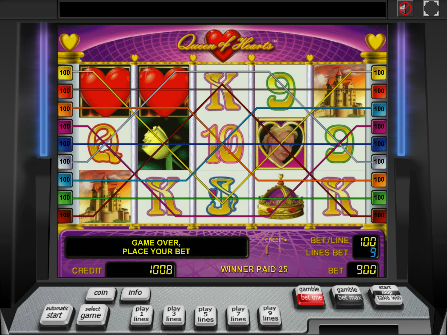play Queen of Hearts online