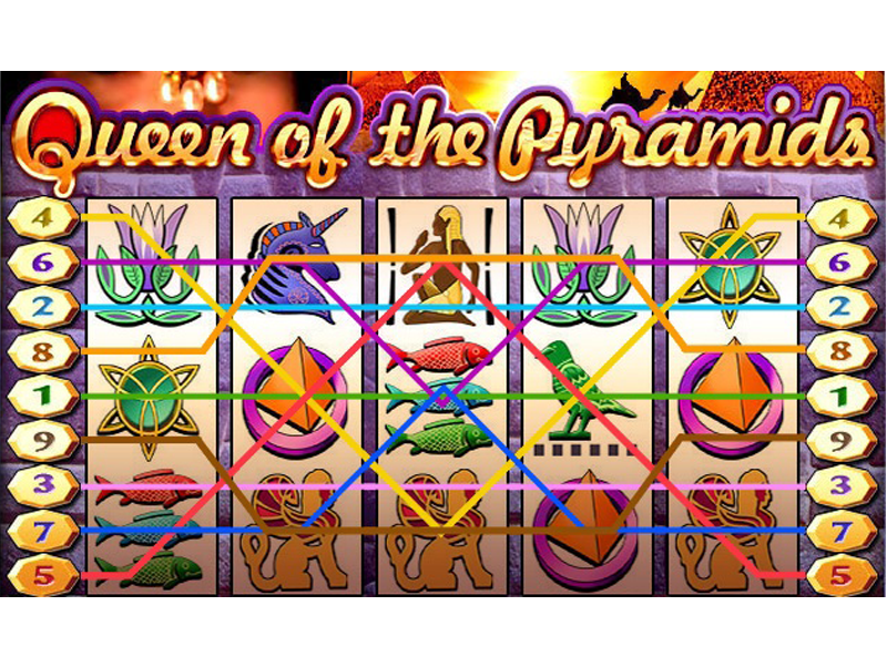 play Queen of the Pyramids online