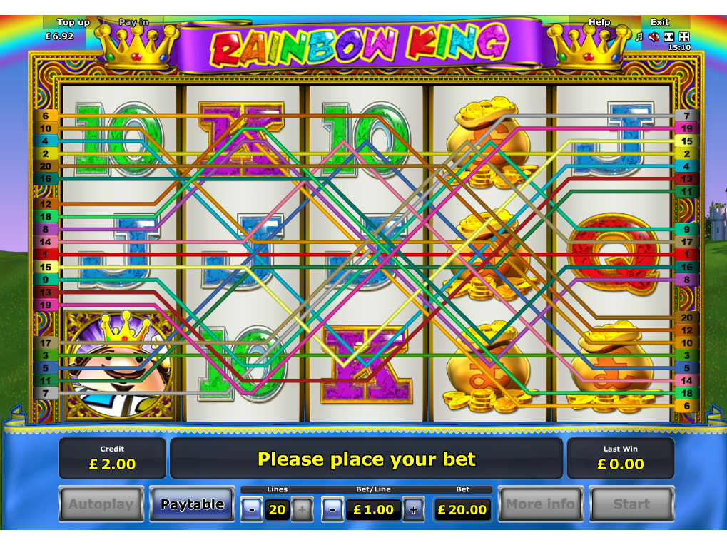play Rainbow King online