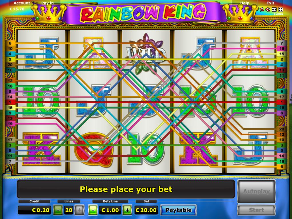 Jetzt Rainbow King online spielen