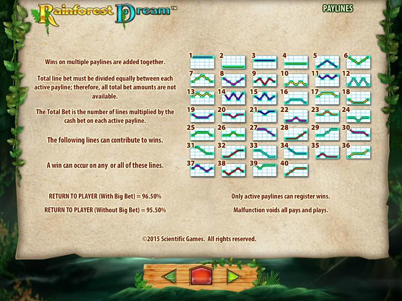 Jetzt Rainforest Dream online spielen
