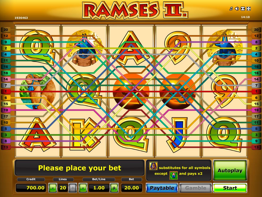 Jetzt Ramses II online spielen