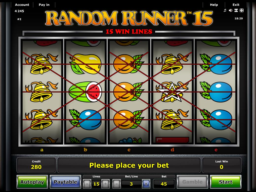 Jetzt Random Runner 15 online spielen