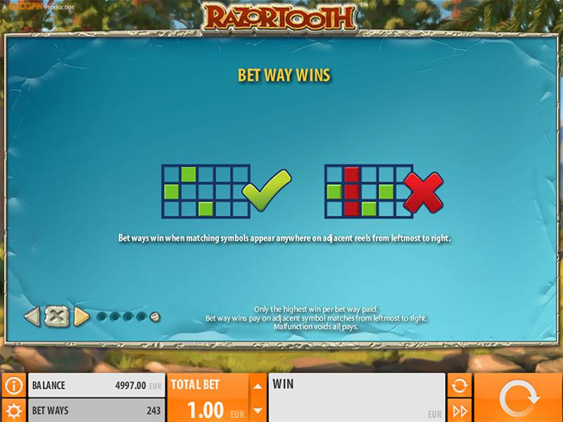 Jetzt Razortooth online spielen