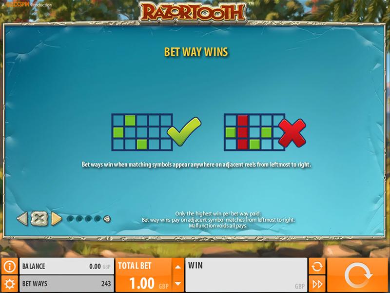 play Razortooth online