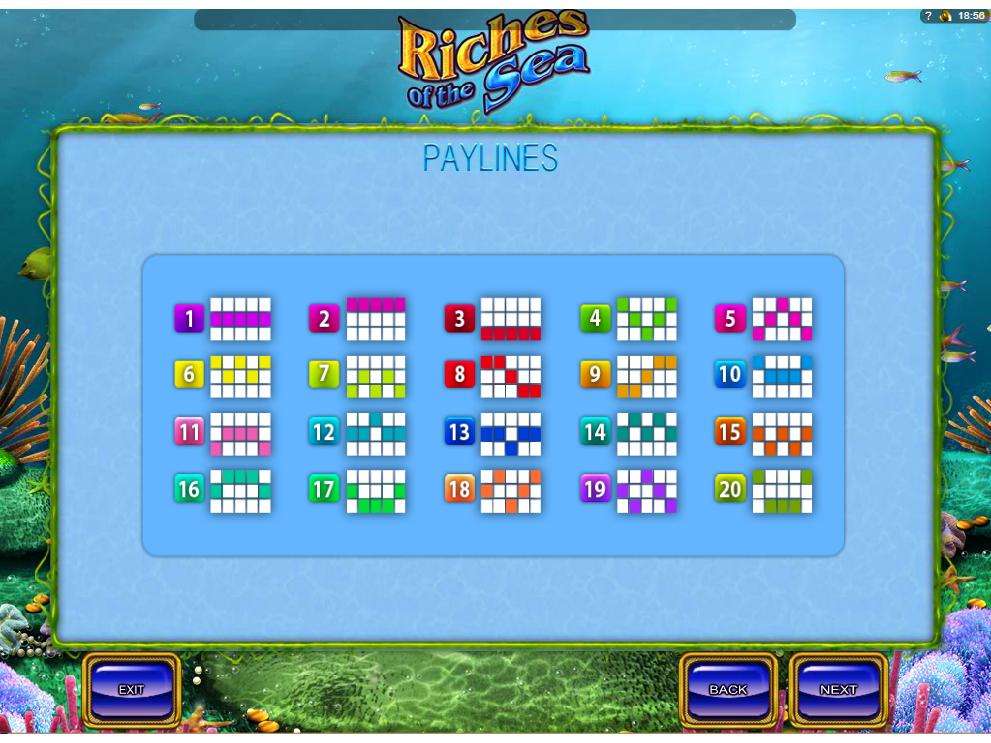 Jetzt Riches of the Sea online spielen