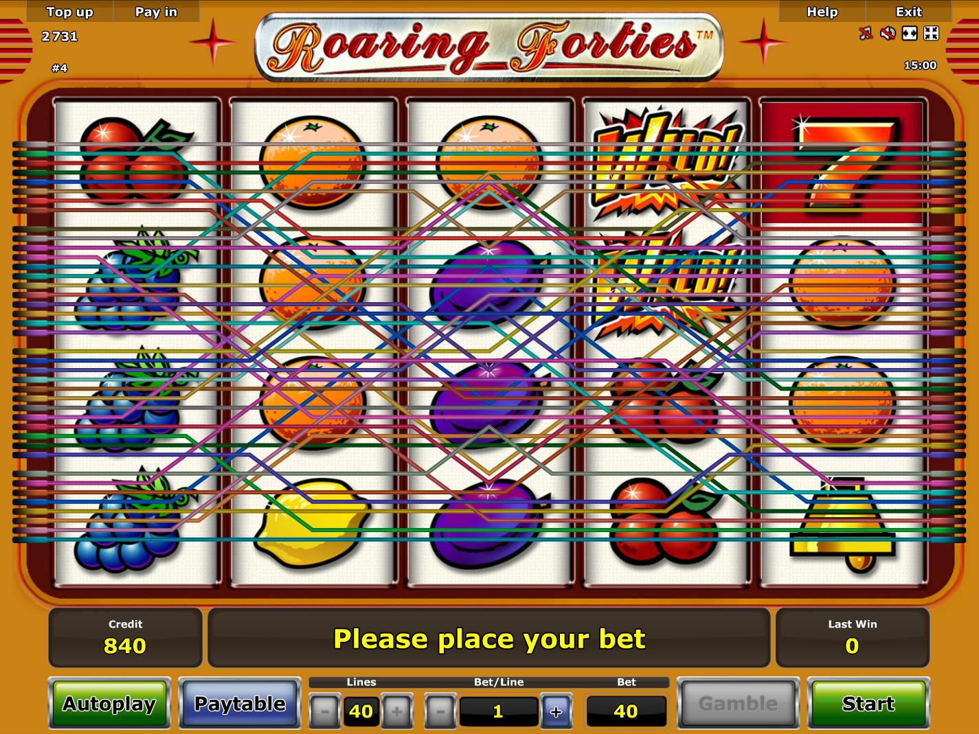 play Roaring Forties online