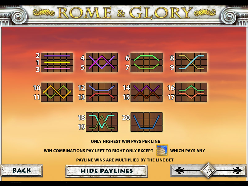 play Rome and Glory online