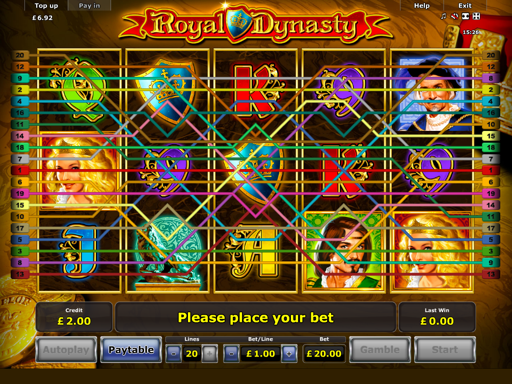 play Royal Dynasty online