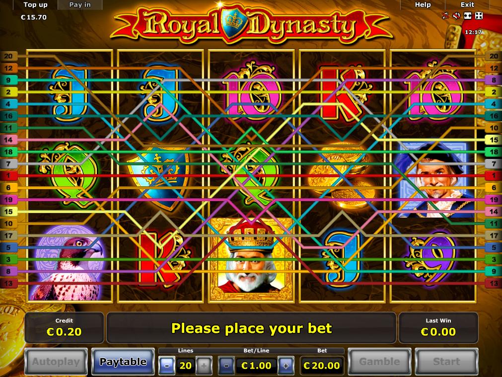 Jetzt Royal Dynasty online spielen
