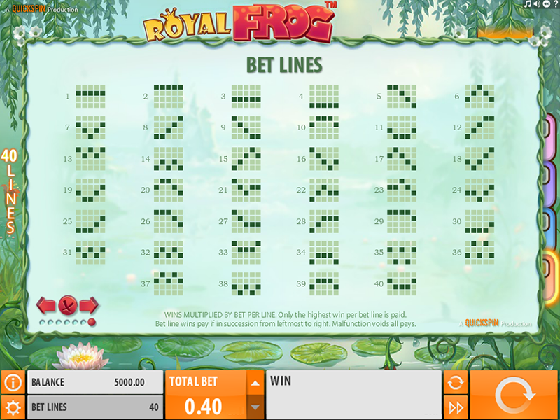 play Royal Frog online