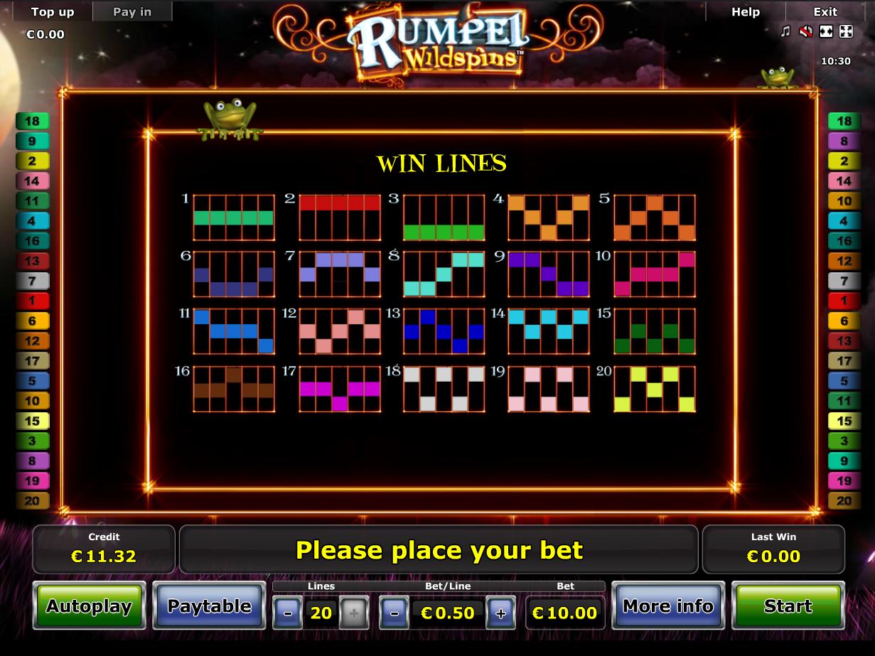 Jetzt Rumpel Wildspins online spielen