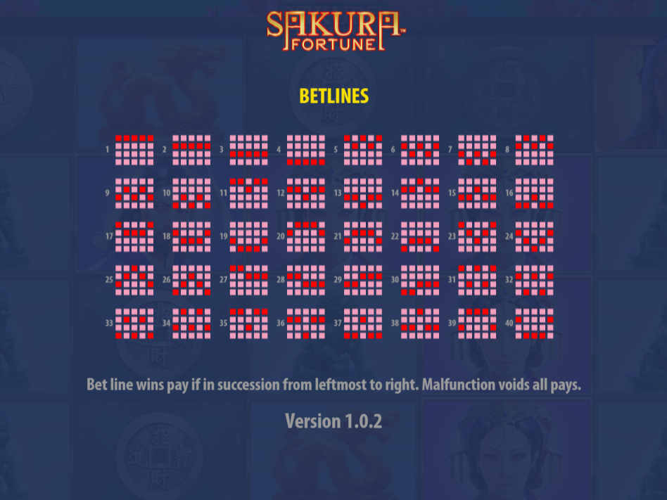 play Sakura Fortune online