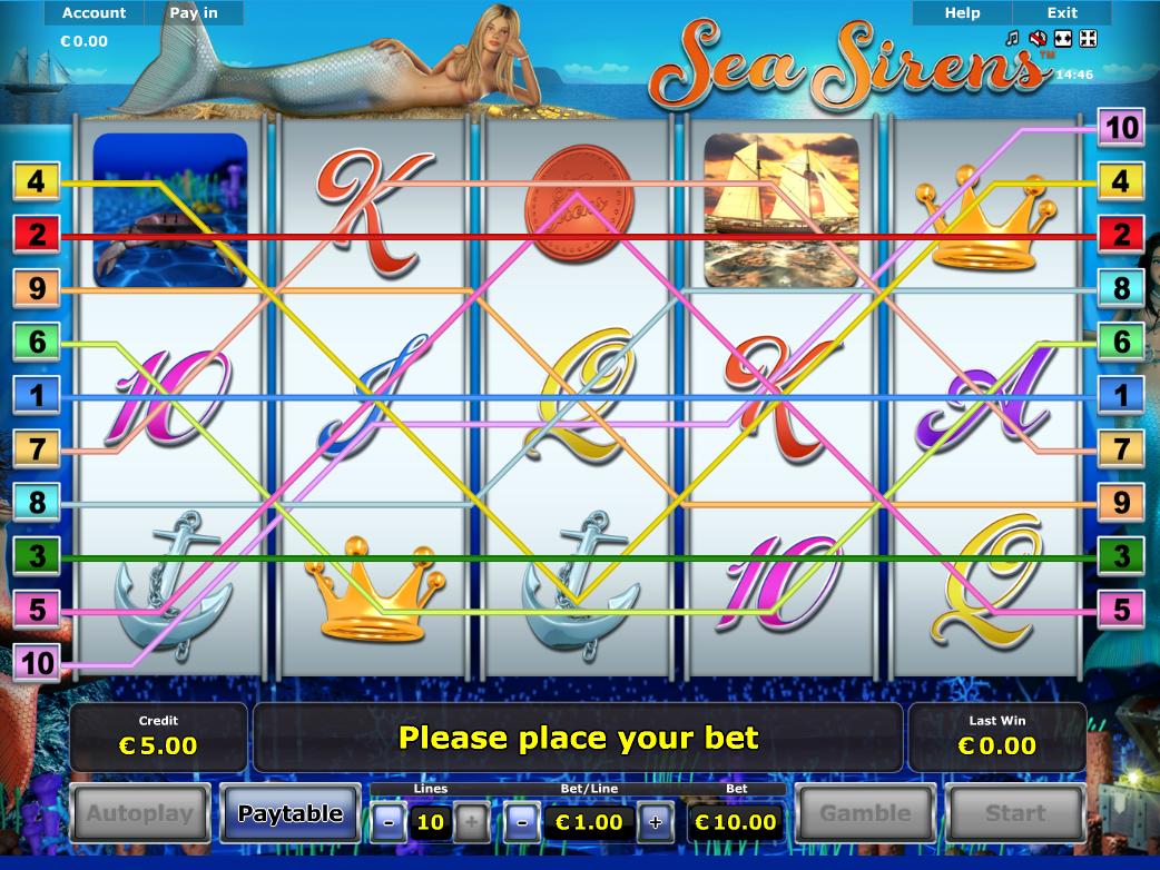 Jetzt Sea Sirens online spielen