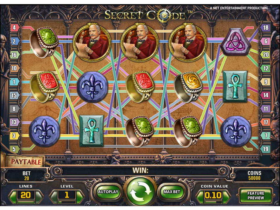 play Secret Code online