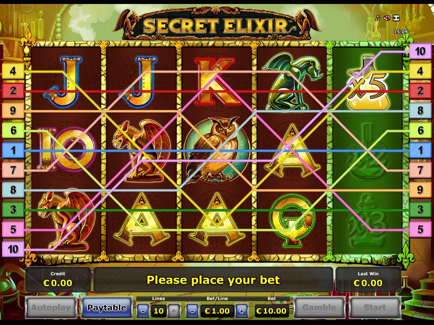 Jetzt Secret Elixir online spielen