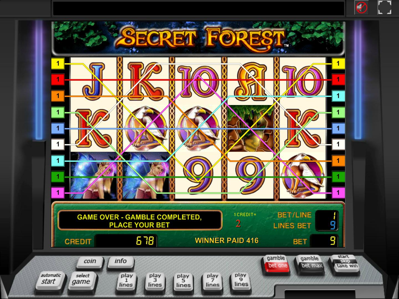 Jetzt Secret Forest online spielen