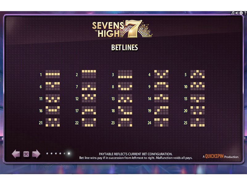 play Sevens High online