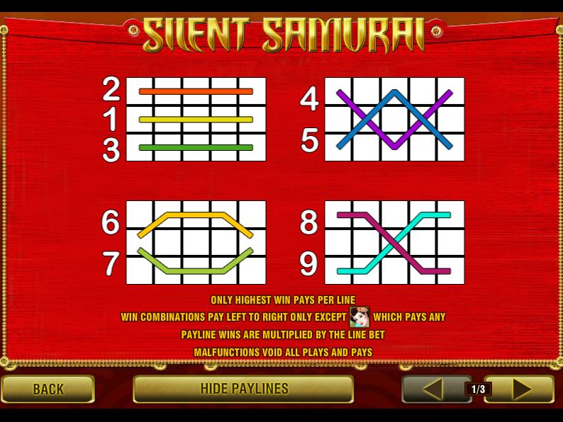 play Silent Samurai online