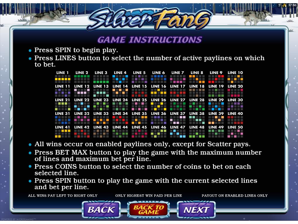 Jetzt Silver Fang online spielen