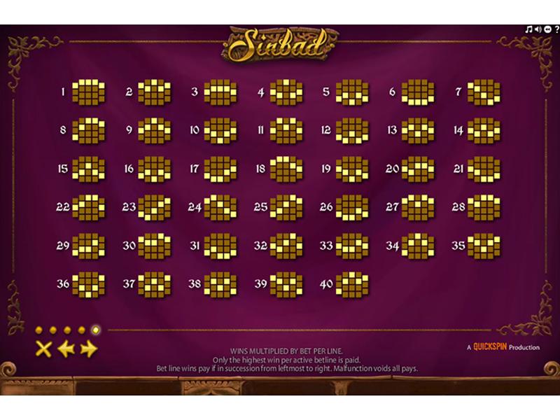 Jetzt Sinbad online spielen