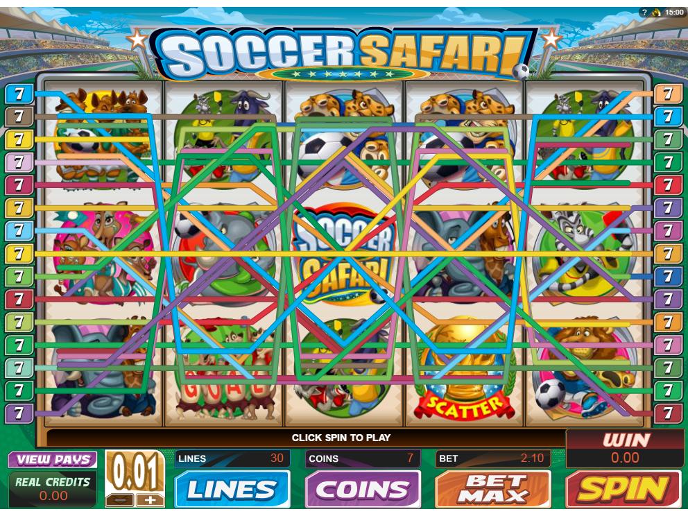 Jetzt Soccer Safari online spielen