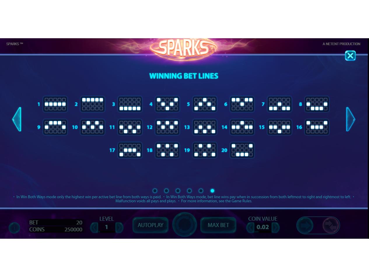 Jetzt Sparks online spielen