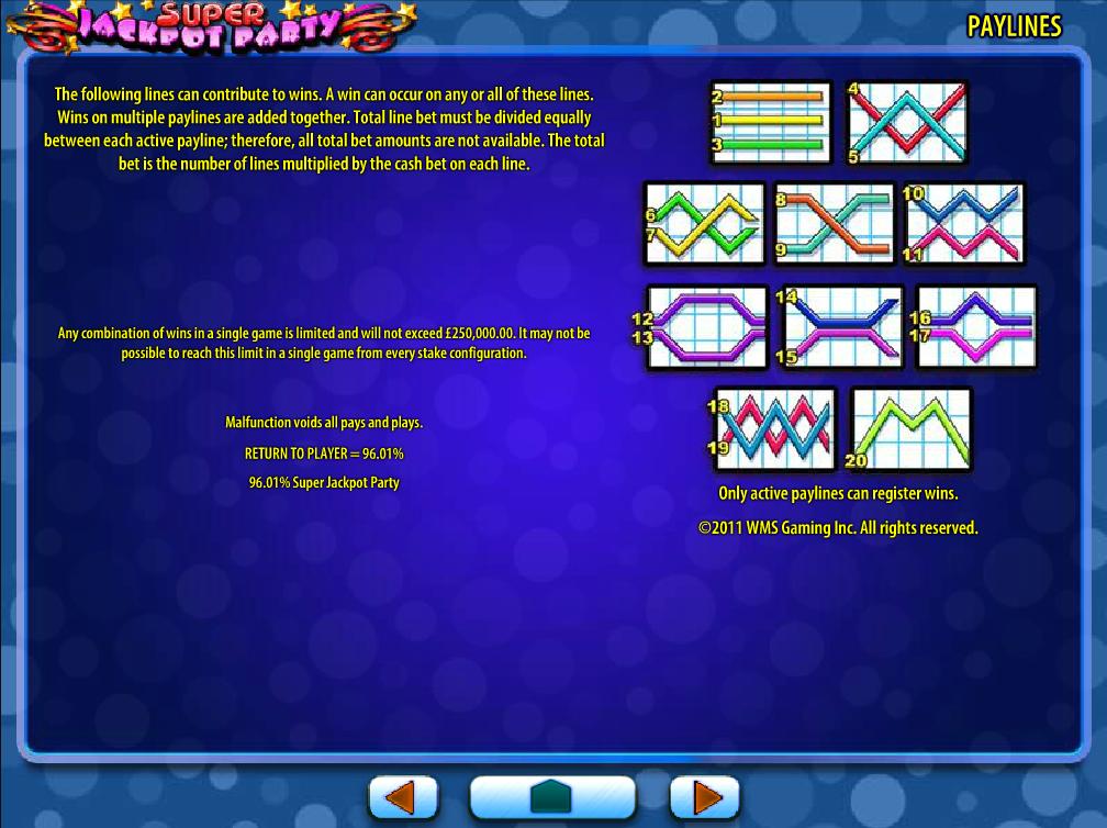 Jetzt Super Jackpot Party online spielen
