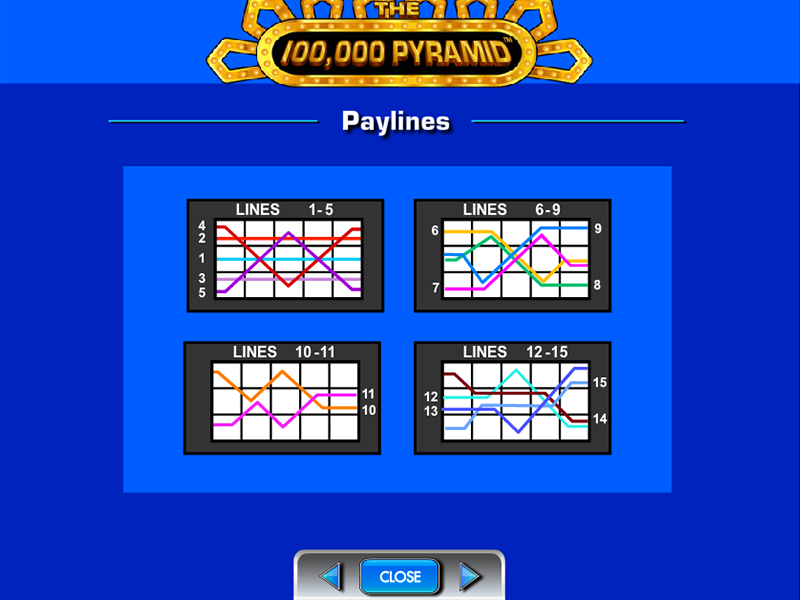 play The 100,000 Pyramid online
