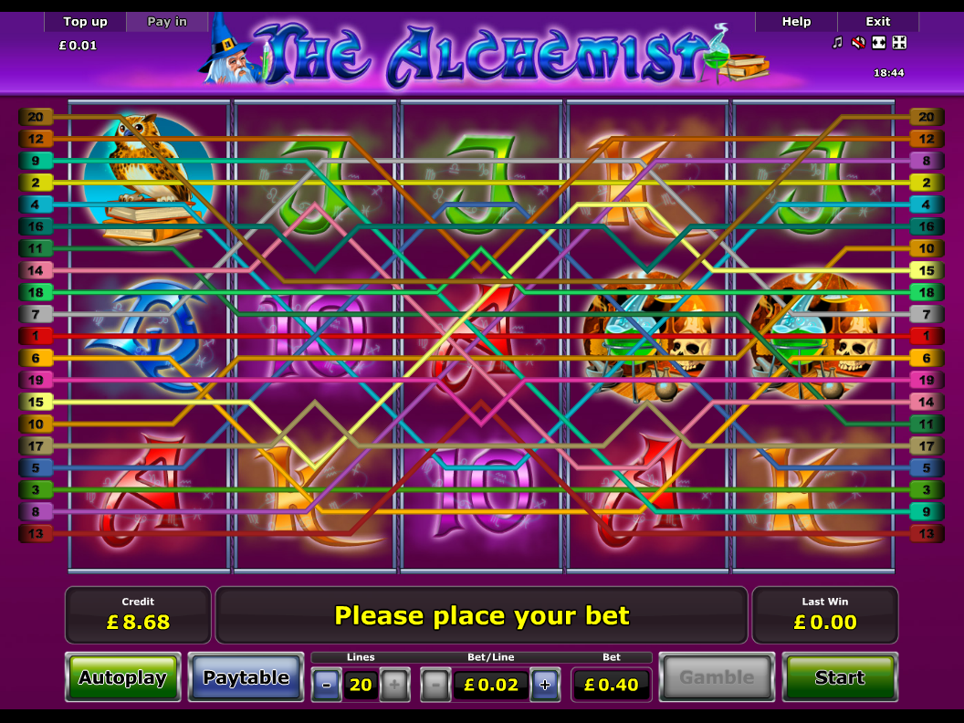 play The Alchemist online