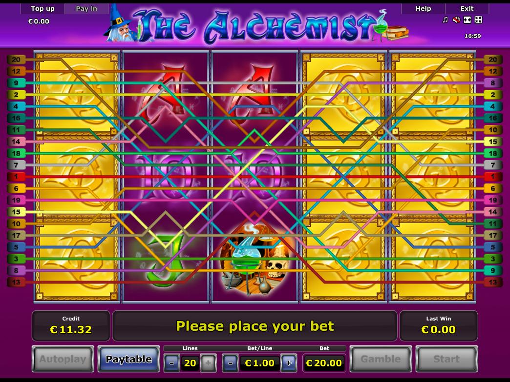 Jetzt The Alchemist online spielen
