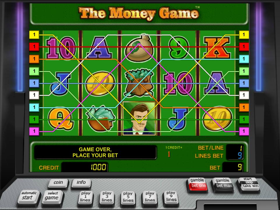 Jetzt The Money Game online spielen