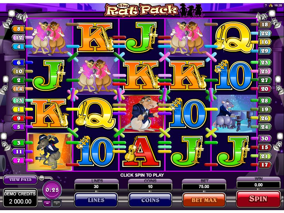 Jetzt The Rat Pack online spielen