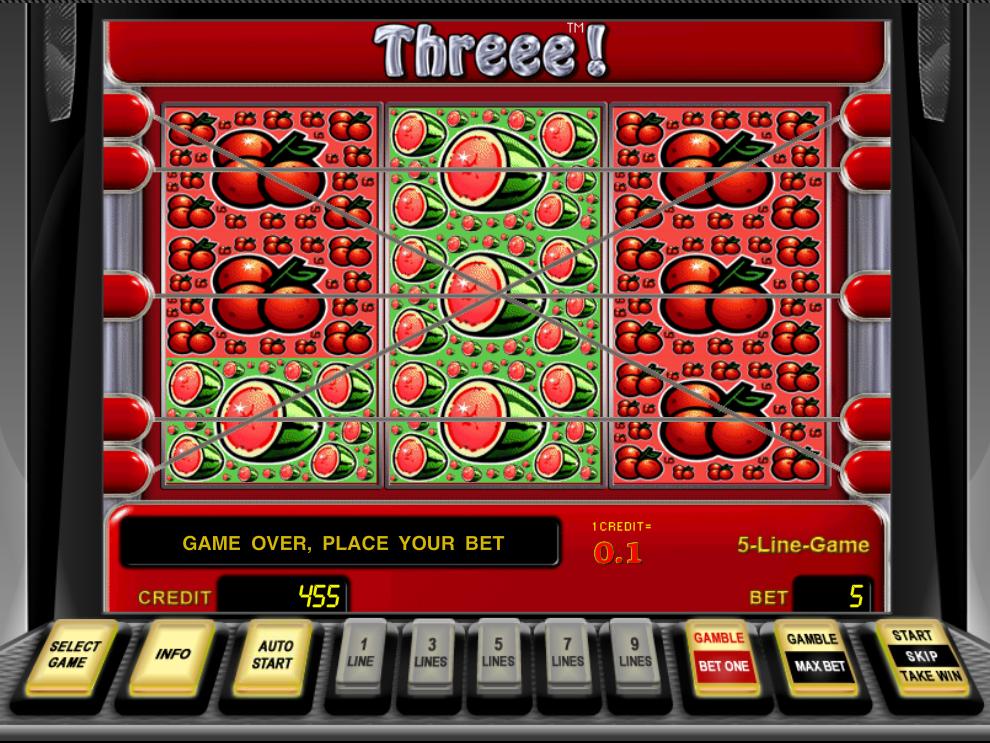 play Threee! online
