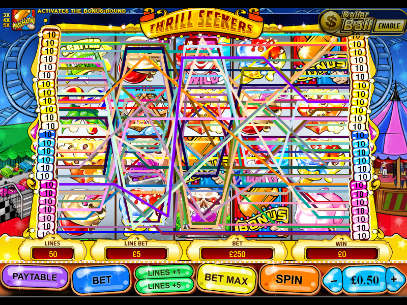 play Thrill Seekers online