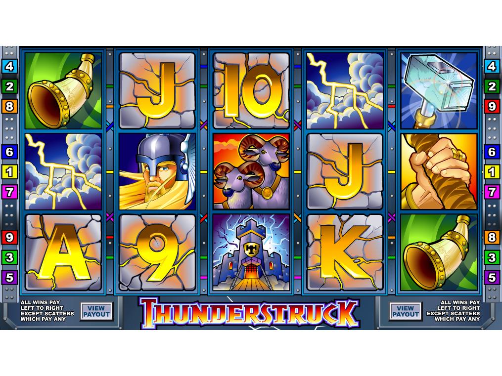 Jetzt Thunderstruck online spielen