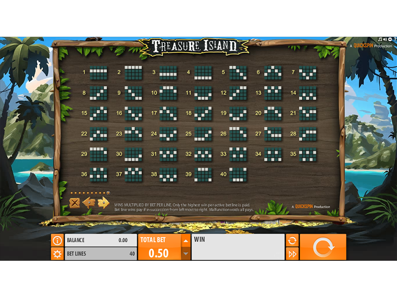 play Treasure Island online